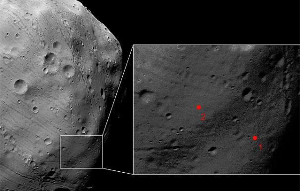 Imagen de Phobos captada por la sonda Mars Express