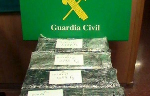 Incautadas más de 7 toneladas de cocaína en una operación europea antidroga