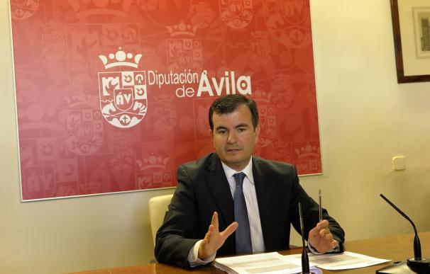 La Diputación de Ávila abona más de 4 millones de euros a ayuntamientos, dos de ellos para empleo