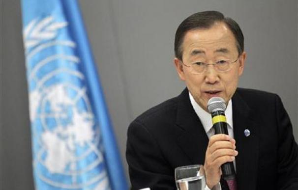 La ONU aprueba un segundo mandato de Ban Ki-moon