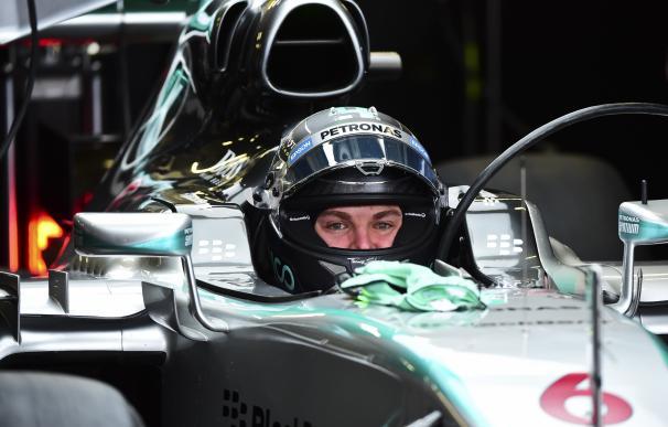 Nico Rosberg, en el circuito Hermanos Rodríguez de México