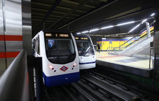 La línea 9 de Metro entre San Cipriano y Puerta de Arganda, suspendida temporalmente por obras desde este miércoles