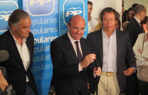 Guindos dice que la única condición a Catalunya será cumplir el objetivo de déficit en 2012 y 2013