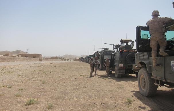 Siete ataques en una semana contra las tropas españolas en Badghis