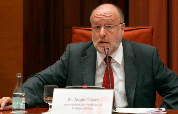 """Àngel Colom considera que la comisión parlamentaria es """"un tribunal político"""""""