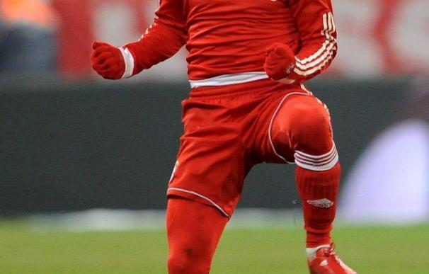 Robben recomienda a Ribery fichar por el Barcelona antes que por el Real Madrid