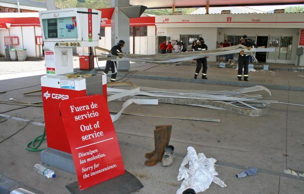 Una mujer sufre quemaduras graves tras la explosión en el bar de una gasolinera
