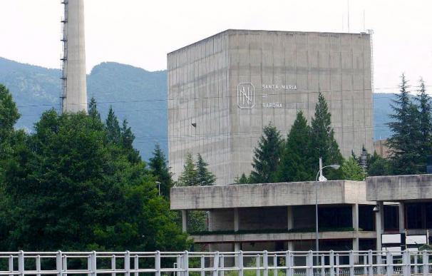 La central nuclear de Garoña para un reactor por vibraciones de la turbina