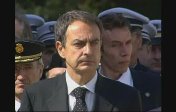 Francia y España, unidas frente a ETA en el funeral por el policía francés asesinado