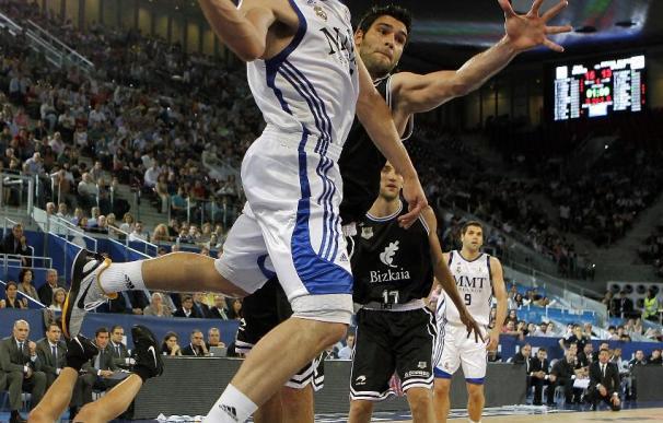 Crónica del Real Madrid - Bizkaia Bilbao Basket, 78-67