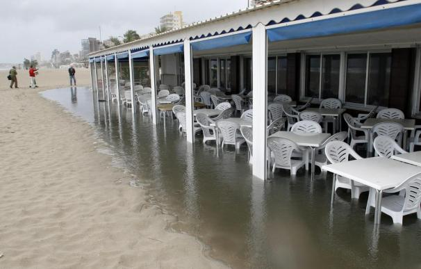 Un restaurante de Huelva cobra la mitad si llueve durante la comida
