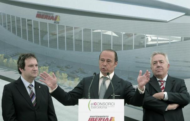 El nuevo hangar de Iberia en el Prat entrará en servicio en noviembre