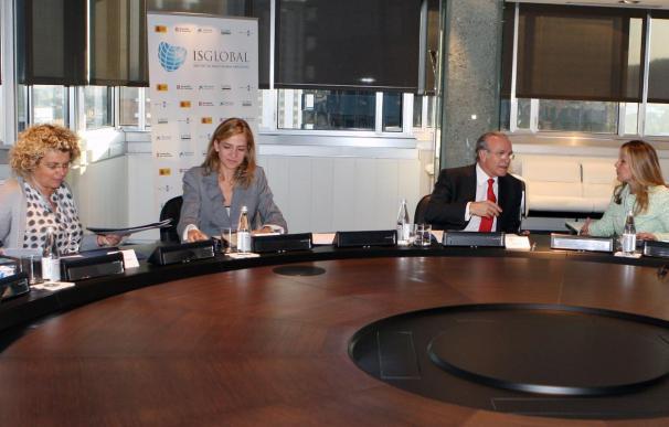 El Instituto de Salud Global celebra la primera reunión presidida por la Infanta Cristina
