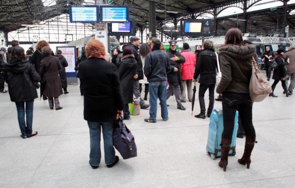 Huelga contra la política social del gobierno francés y la reforma de las pensiones