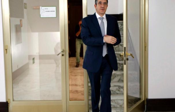 """Patxi López afronta tranquilo la reunión de los barones que no contempla """"tensa"""""""