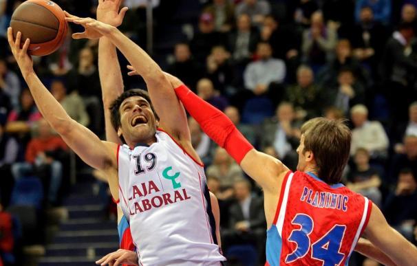 86-63. El CSKA de Moscú barre a un lamentable Caja Laboral