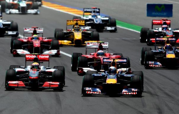Victoria de Vettel por delante de Hamilton; Alonso noveno en Valencia