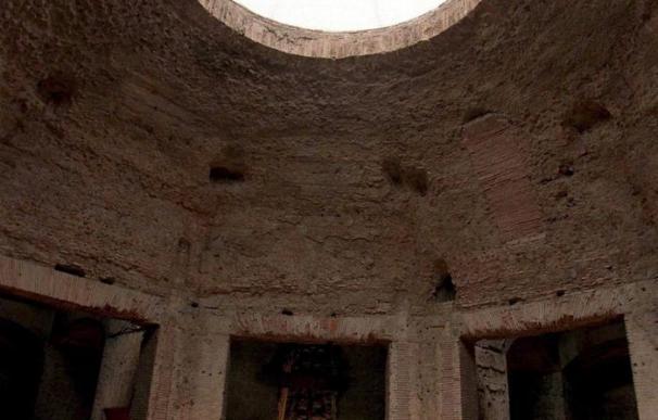 Se desprende parte de la Domus Aurea de Roma durante trabajos de restauración