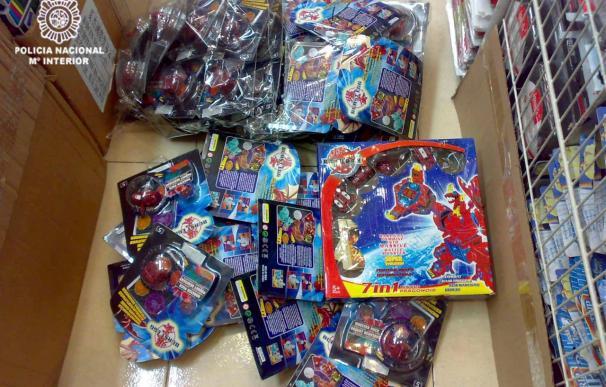 """Decomisados 47.000 juguetes """"Bakugan"""" falsos valorados en un millón de euros"""