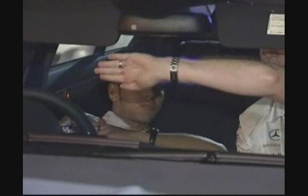 Hamilton, detenido en Australia por conducción temeraria