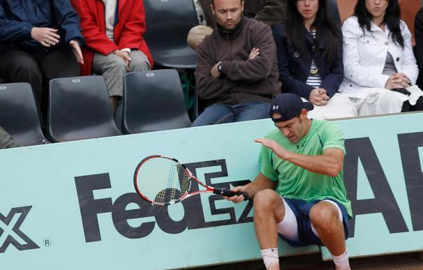 Ginepri vence a Juan Carlos Ferrero, campeón del 2003
