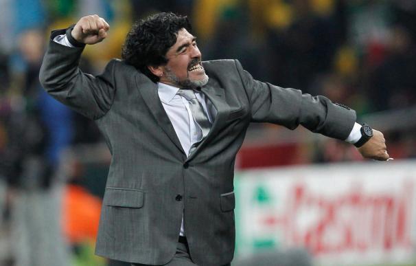 "Maradona asegura que fueron ""superiores"""