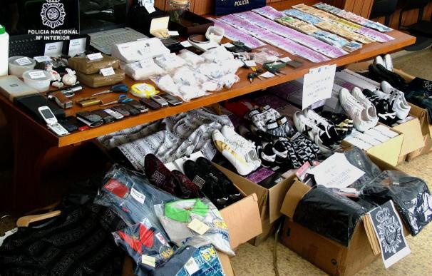 Detienen a 9 traficantes de droga y decomisan 4,5 kilos de cocaína
