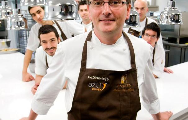 El cocinero Andoni Luis Aduriz busca seguir a Chillida, Oteiza y Balenciaga con su nuevo Mugaritz