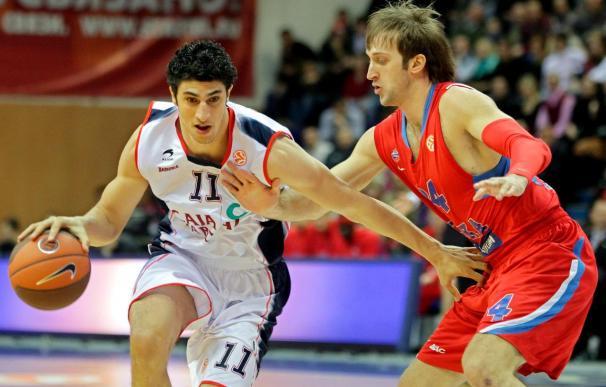 83-63. El Caja Laboral vuelve a estrellarse con la calidad y el potencial del CSKA