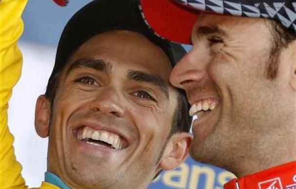 Alberto Contador pone a raya a sus rivales y gana la París-Niza.