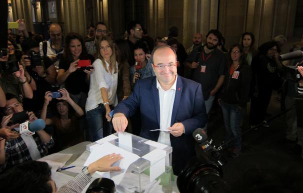 27S.- Iceta ve posible que la participación supere el récord histórico en unas catalanas