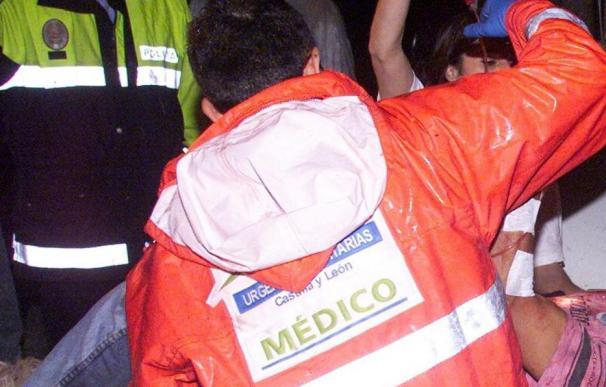 Dos muertos al colisionar un camión y un turismo en Adradas (Soria)