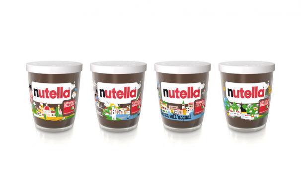Producto: Nutella Esperienza Italia 150. Envase para Nutella
