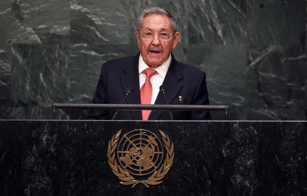 Raul Castro en su primer discurso ante la ONU