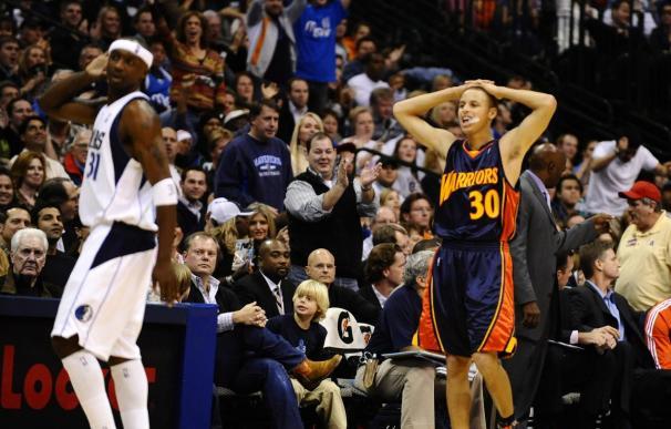 128-110. Curry logra un doble-doble en el triunfo de Warriors; Gasol no jugó