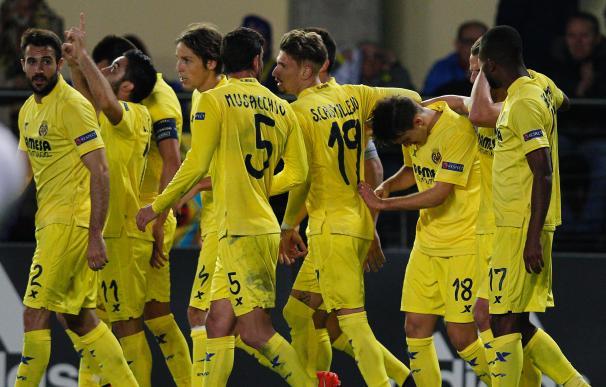 Denis Suárez dio la victoria al Villarreal ante el Nápoles / AFP