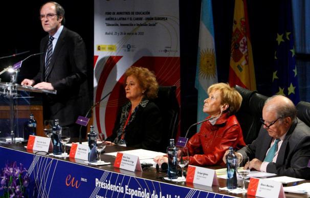 Iberoamérica busca en Europa un compromiso que favorezca su salto educativo