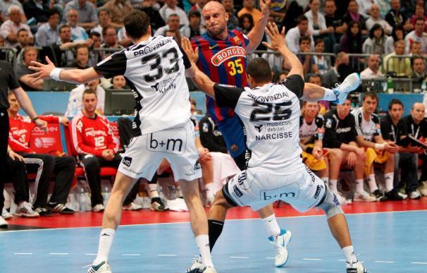 34-36. El Kiel, nuevo campeón europeo tras derrotar al Barcelona en la final a cuatro de Colonia