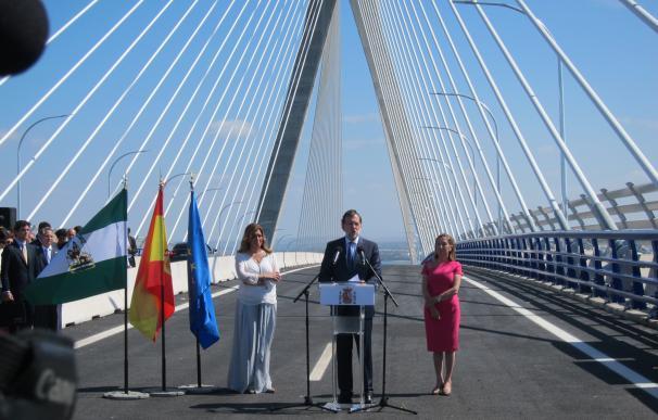 """27S.- Rajoy subraya que los españoles son """"constructores de puentes"""", que """"unen territorios y conectan personas"""""""