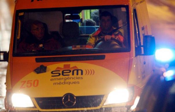 Tres muertos y tres heridos graves en choque frontal de dos coches en Lleida