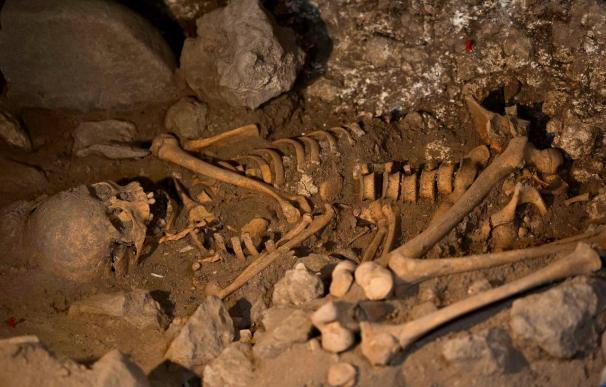 Localizado el enterramiento de una mujer de la Edad del Bronce