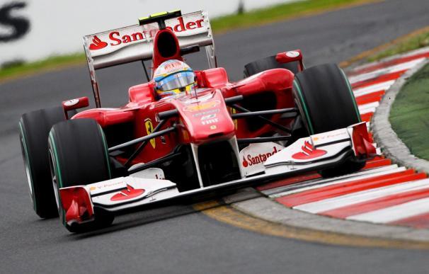 Alonso controla la situación y salva el liderato del mundial