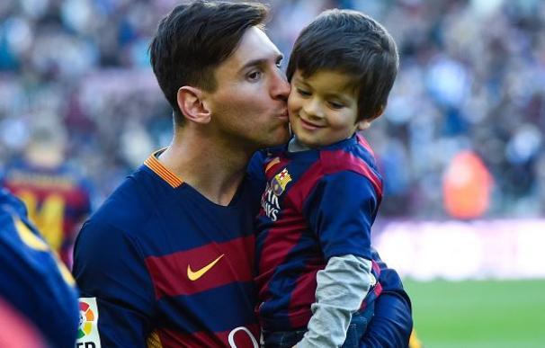 Messi instala un sistema de videovigilancia en el colegio de su hijo Thiago / Getty Images.