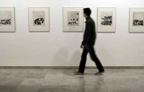 Una exposición profundiza en Segovia sobre los dibujos de Esteban Vicente