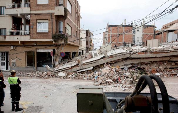 Nueve muertos y 293 heridos por el terremoto de Lorca, según el último balance del Gobierno murciano