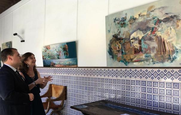 'EL horizonte de los sueños', de Marta Maladonado, muestra en una exposición en Ávila la línea entre la tierra y el mar