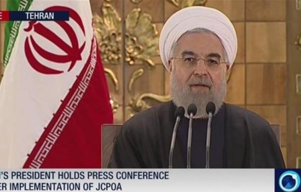 Rohani destaca la victoria de la diplomacia que supone el acuerdo nuclear