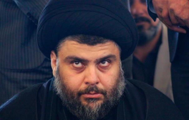 Muqtada al Sadr hace una demostración de fuerza en su feudo de Bagdad
