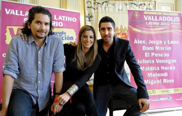 Álex Ubago, Jorge Villamizar y Lena presentan en Madrid su disco conjunto
