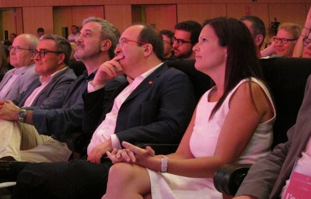 Iceta, proclamado candidato del PSC a la Generalitat con el 97,5% de apoyos